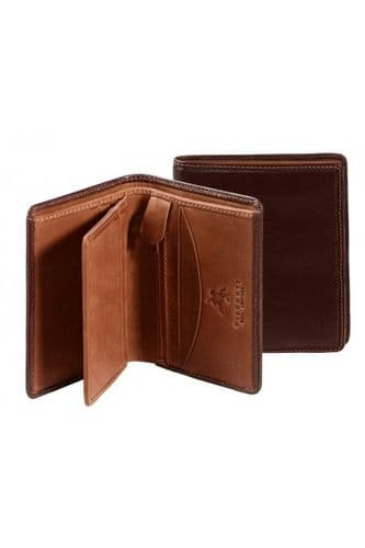 Leather Wallets in Brown